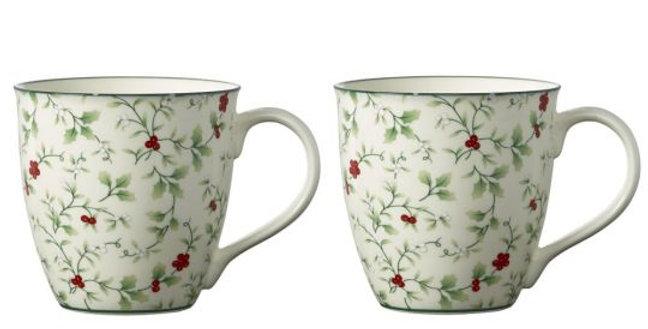 Pfaltzgraff® - Winterberry® Christmas Mug Set
