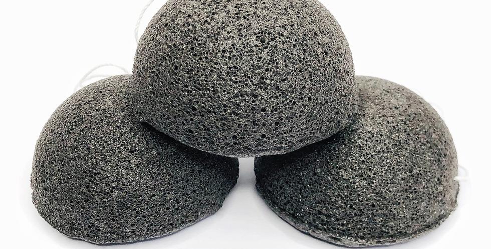 Konjac Sponge Biodegradable Charcoal * Zero Waste