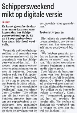 SW36 - Nieuwsblad