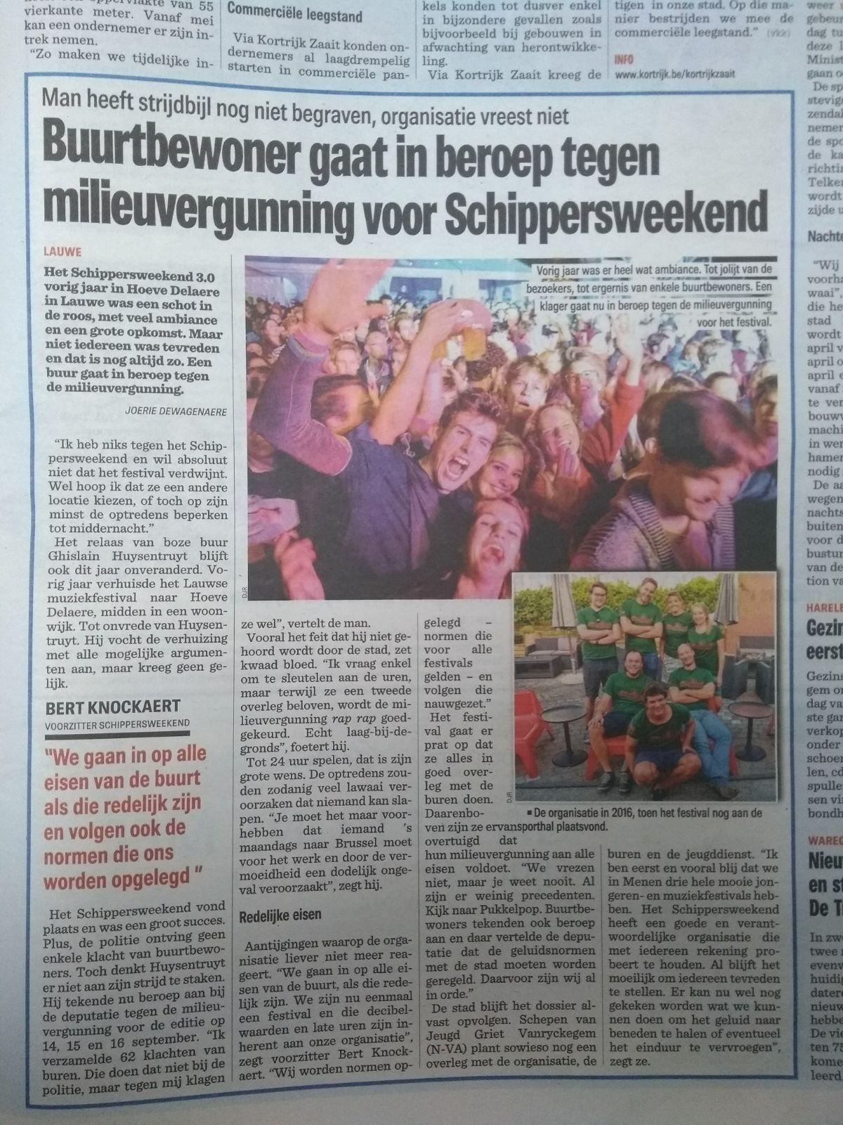 SW34 - Nieuwsblad