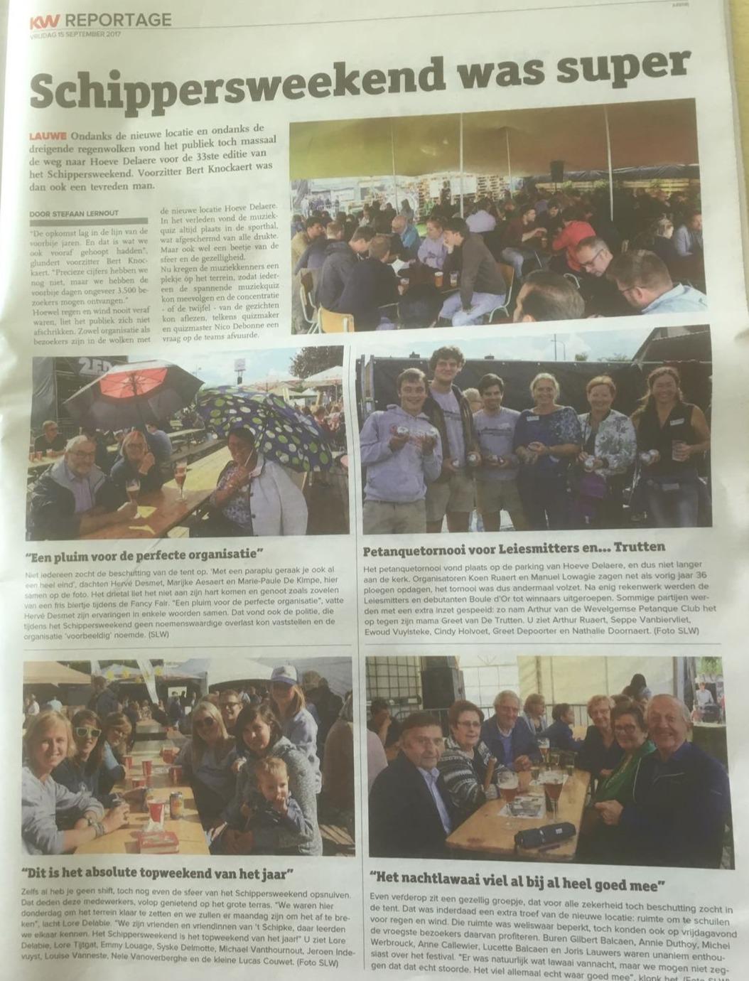 SW34 - Krant van West-Vlaanderen