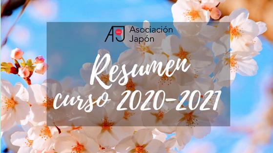 Resumen del curso 2020-2021