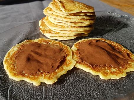 Recette de février : des pancakes au Notzino pour la Chandeleur