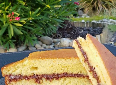 Recette de septembre : Gâteau au Yaourt fourré Notzino