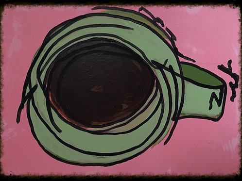 Coffee Cup 11 X 14 Print