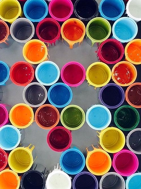 Paint Cans 11 X 14 Print