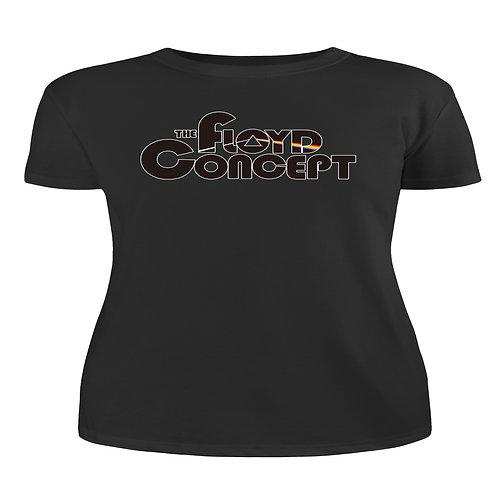 Women's Floyd Concept Logo Black Tee