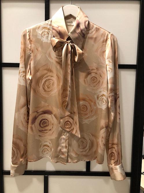 Bluza s pentljo, DESIGN LINIJA KAR=IN