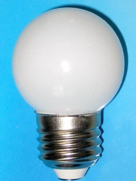 1W LED  Frosted Bulb for Festoon Belt