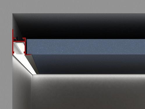 Aluminium Led Profile Ceiling Frame