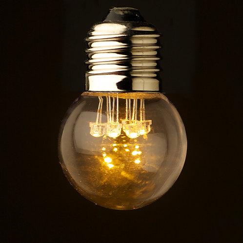 2W Clear Filament LED Bulb for Festoon