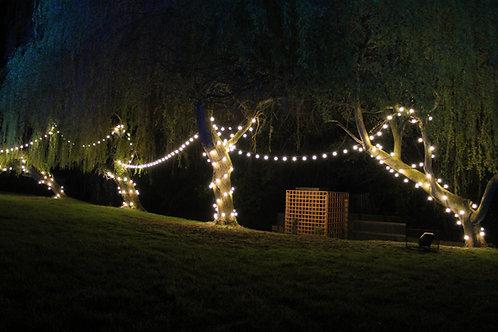 Vintage Decorative Festoon Belt lights 50m