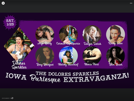 The Dolores Sparkles Iowa Burlesque Extravaganza