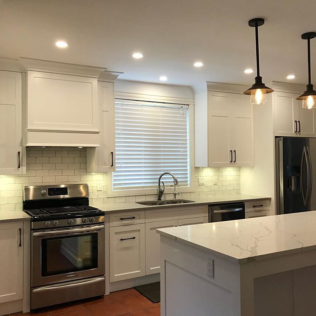 Another kitchen we did this year. #custo