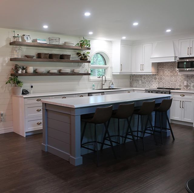 Here's a kitchen we finished recently. I