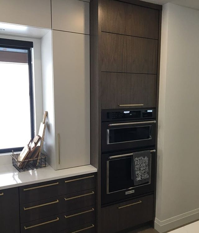 Nice clean line kitchen we did a while a