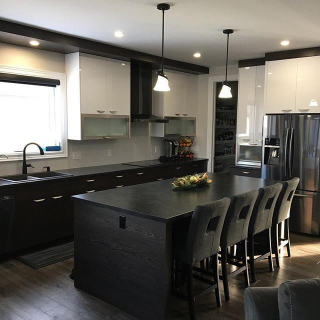 Here's another custom kitchen we built e
