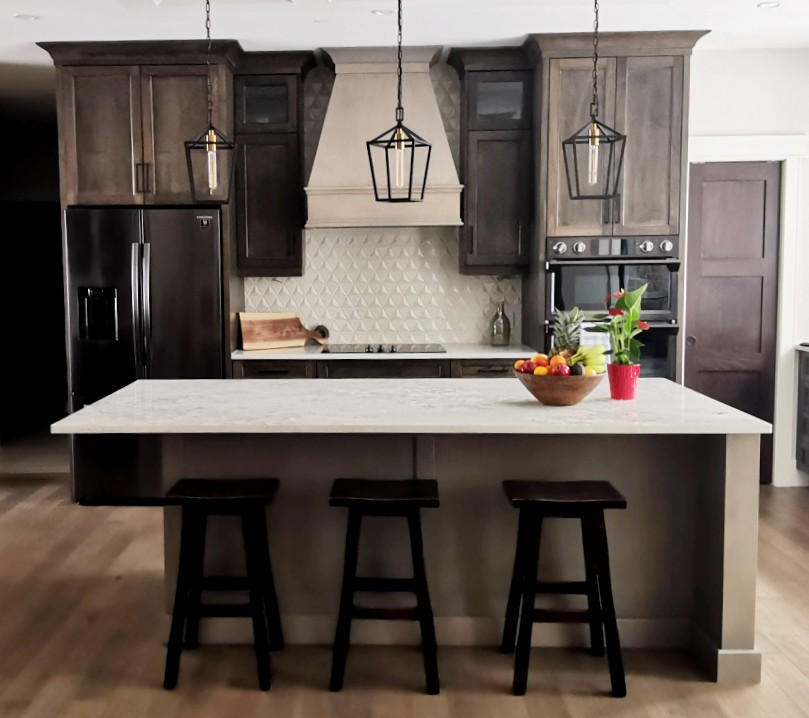 Kitchen Grey Stained Hood and Island.jpg