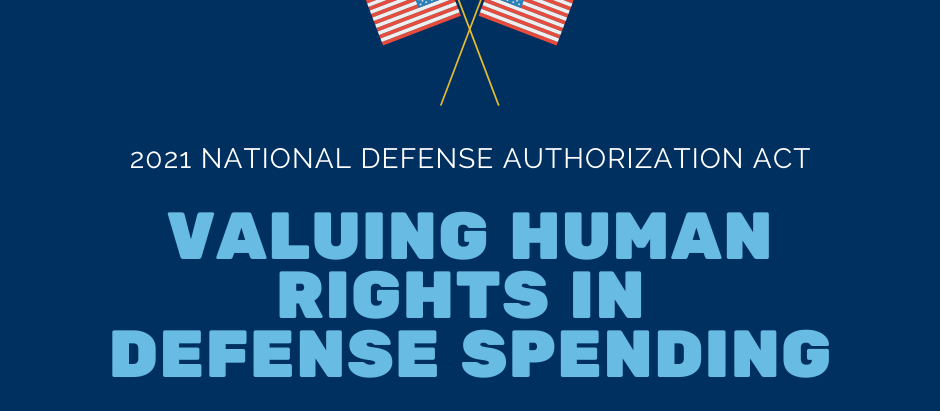 Include Human Rights Considerations in the NDAA