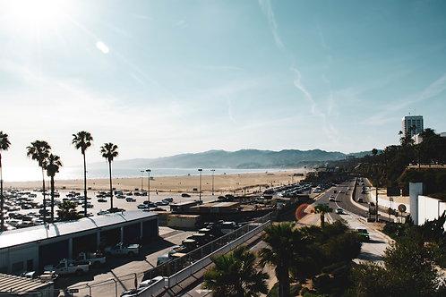 Santa Monica View - Photo Print