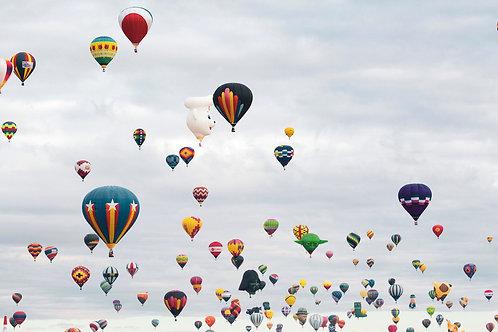 Balloon Skies - Photo Print