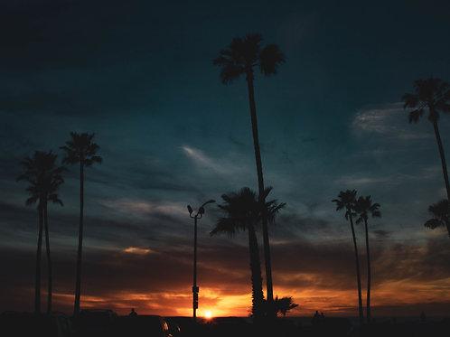 Beach Sunset - Photo Print
