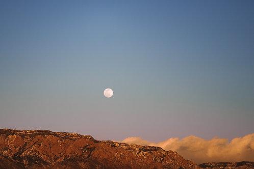 Sunset Moon - Photo Print