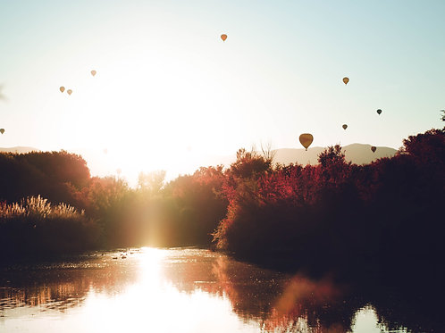 Bosque Balloons - Photo Print