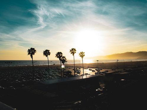 California Golden Hour - Photo Print