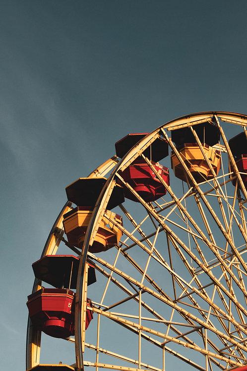 Pier Enjoyment - Photo Print