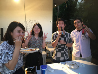 デシュパンデDr夕食交流会★BBQ