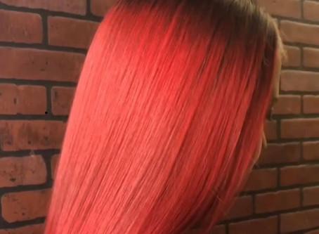 Red Hot Summer Hair 🌶🔥