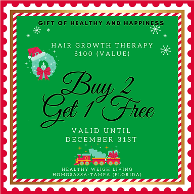 buy 2 get 1 free - hair growth therapy
