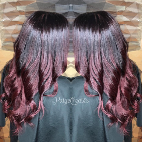 Cut & Color Design on this beautiful gue