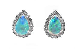 atwood jewelers Opal Earrings