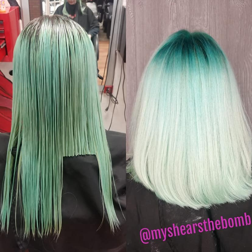 refreshing mint hair
