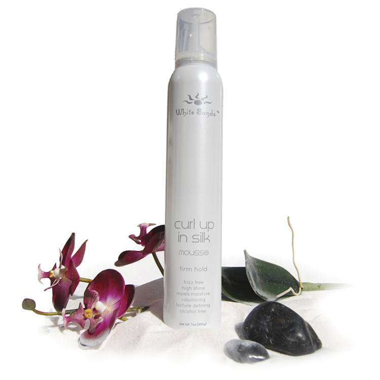 Curl Up in Silk Firm Hold Mousse