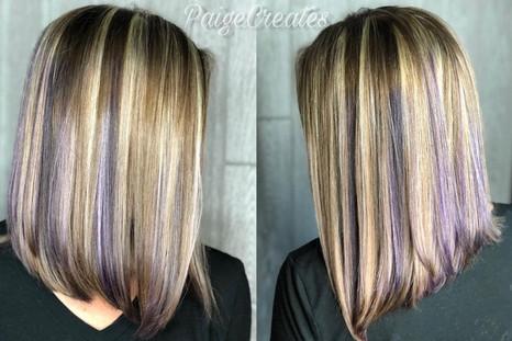 purple peeks and pops of blonde.jpg