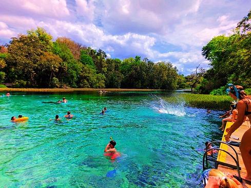 Explore Rainbow Springs in Dunnellon