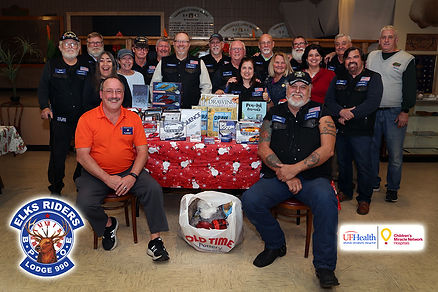 Shands Children's Hospital toy donation