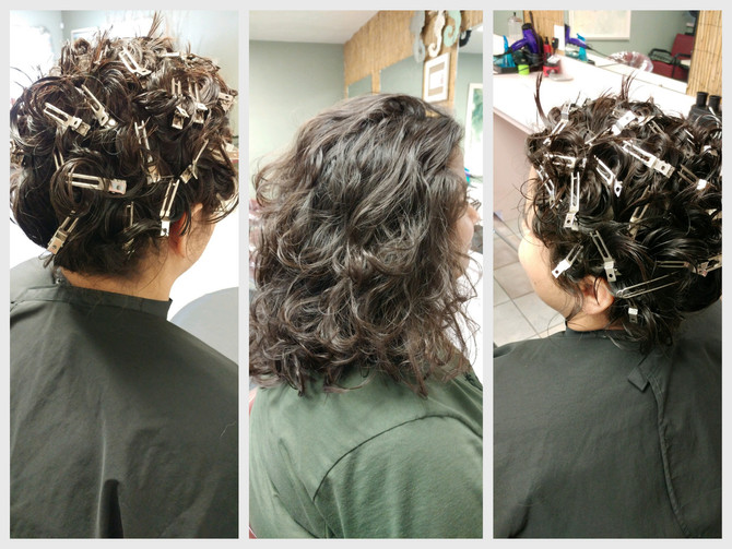 Show off your curls w/@Nature Coast Hair and Nails Homosassa Florida.