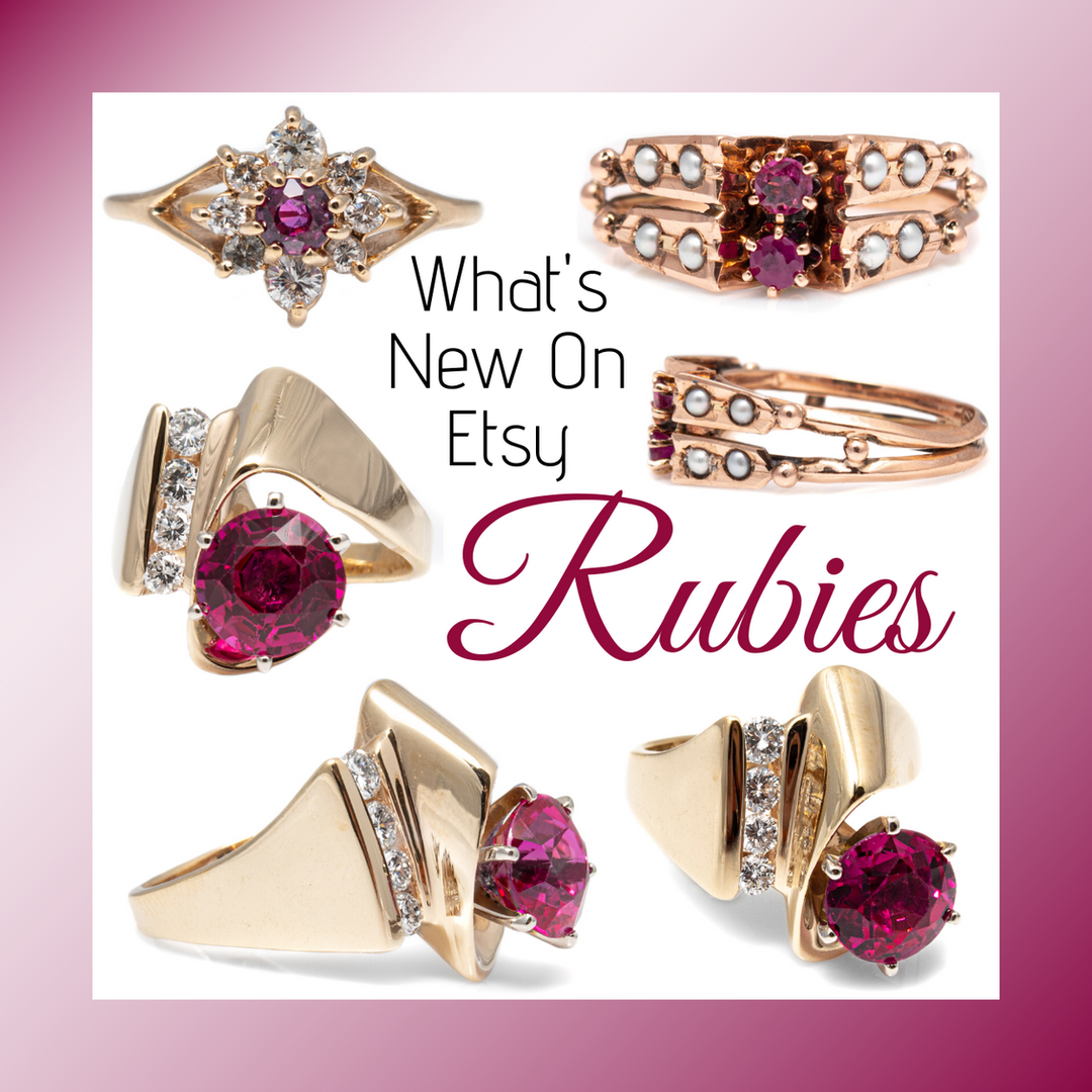 What's New On Etsy rubies