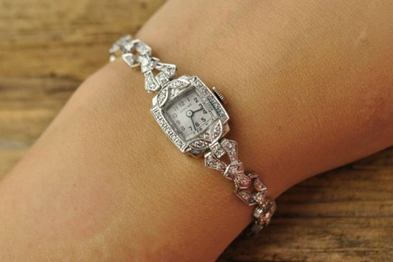 1920's Platinum Watch