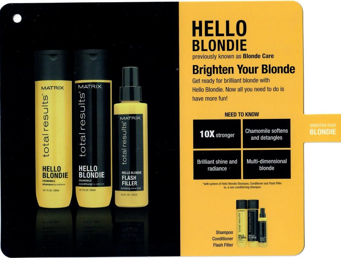 Brighten Your Blondie