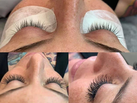 Eyelashes Extensions Service!!