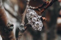 atwood jewelers victorian diamond ring