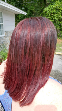 Lanza Red Violet Hair Color