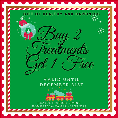 buy 2 get 1 free- treatments