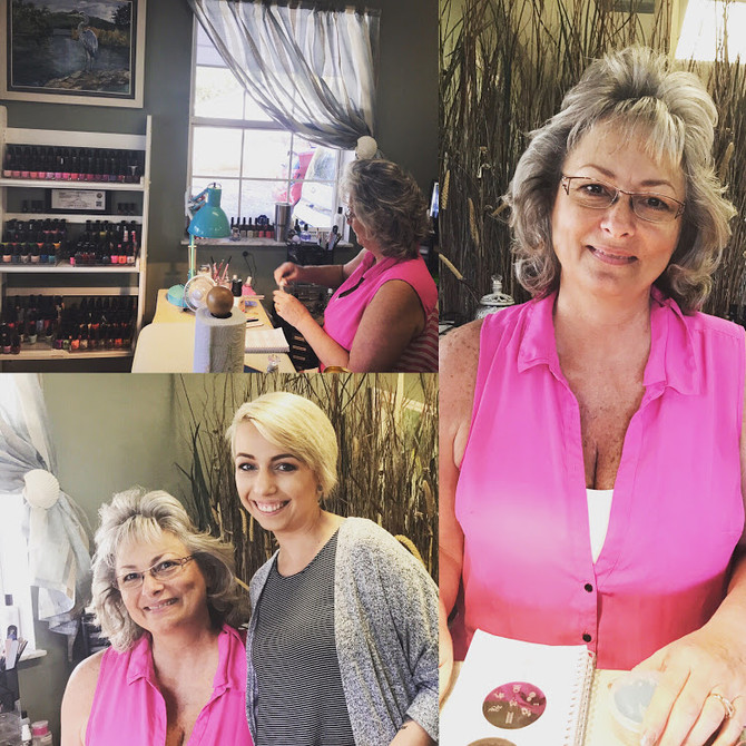 Meet The Queen-Betty @ Nature Coast Hair And Nails