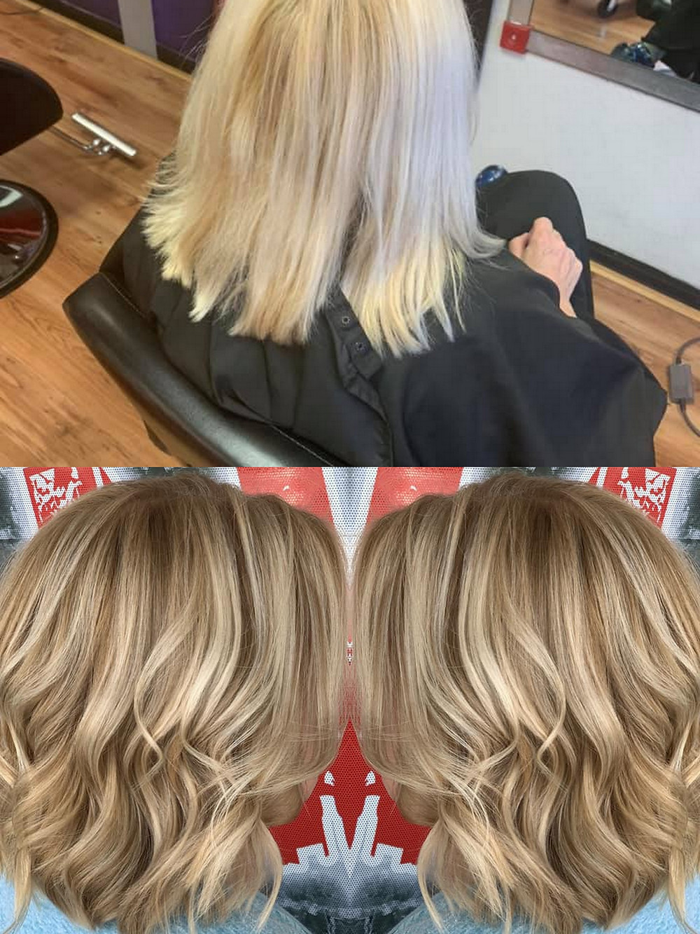 Subtle Cut & Color change